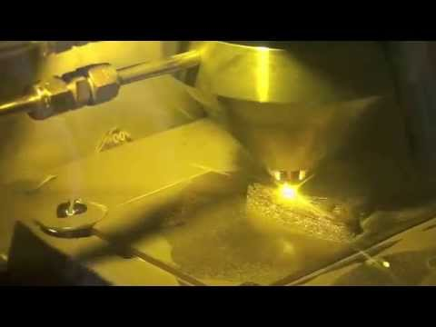 3D Metal Printing Of Rocker- Metal: Titanium