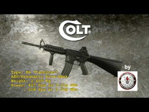 Airsoft COLT M4A1 par G&amp;G Armament de CYBERGUN