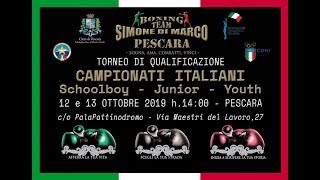 Torneo Qualificazione Campionati SchoolBoy-Junior-Youth 2019 - DAY 1 RING A
