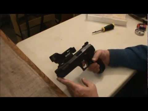 Beeman P-17 .177 Cal Pellet Pistol Review. Shooting & Chrony Test