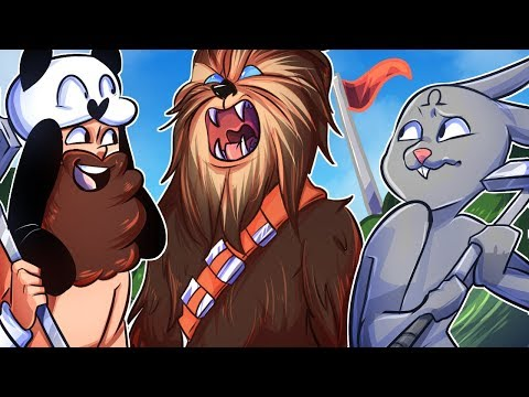 Chewbacca's Sister + A Very Jiggly Hole in One Course! - GOLF IT