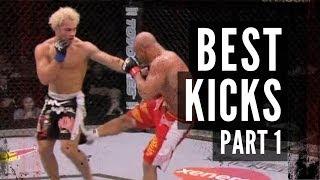 The Best Kicks in MMA