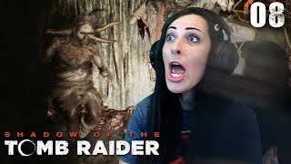 Shadow of the Tomb Raider Walkthrough Part 8 - Jumpscare Raider