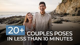 Learn 20+ Couples Poses in Less Than 10 Minutes | Mastering Your Craft
