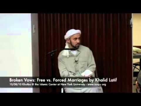 Forced Marriages are forbidden in Islam - by Khalid Latif