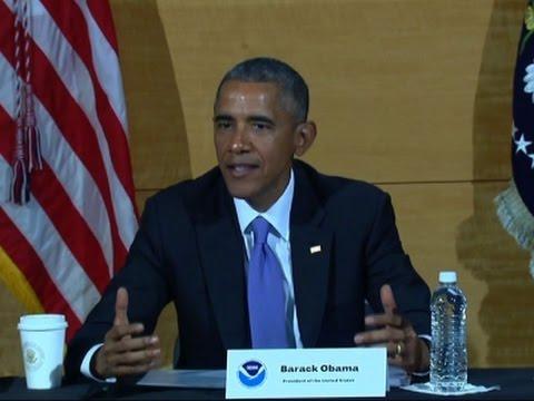 Obama: Responding to Hurricanes a 'Team Effort'