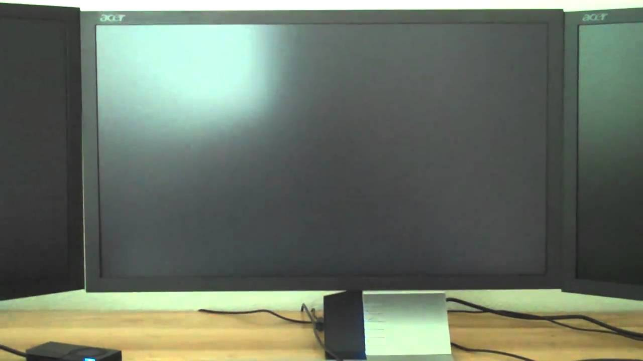 Acer S243HL Review  Nvidia 2D Surround  YouTube