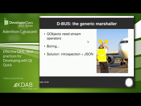 QtDD12 - Effective QML: Best practices for Developing with Qt Quick - Adenilson Calvacanti