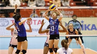 [17-05-2016] Thailand VS Netherlands : Volleyball Olympic : Women