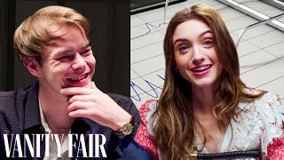 Stranger Things' Charlie Heaton and Natalia Dyer Take A Lie Detector Test | Vanity Fair
