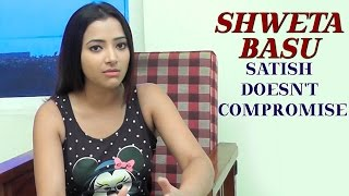 Shweta Basu praises Director Satish for his un-compromised Style for Mixture Potlam