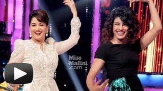 Madhuri Dixit And Priyanka Chopra's Dance In Jhalak Dikhhla Jaa!