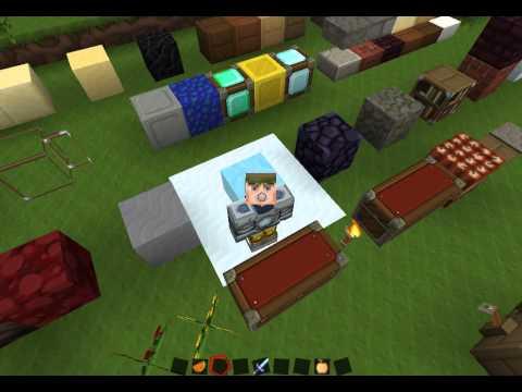 Minecraft 1.5.2 / 1.4.7 - Texture pack - Sphax PureBDcraft