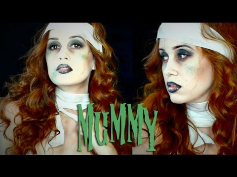Mummy Girl Halloween Makeup Tutorial 2014