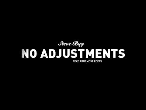 No Adjustments feat. Foremost Poets (Steve Bug's Re-adjustment)
