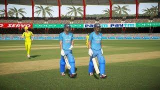 Download India vs Australia - 2nd ODI Match - Don Bradman Cricket 17 3Gp Mp4