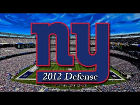 New York Giants Defense Highlights 2012 HD (Weeks 1-14)