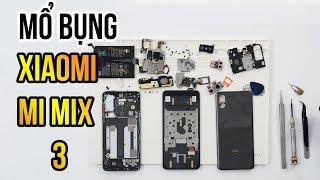 Mổ bụng Xiaomi Mi Mix 3: Cơ chế trượt cực hay ho! - Teardown Mi Mix 3