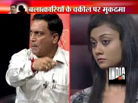 India TV debate on A P Singh