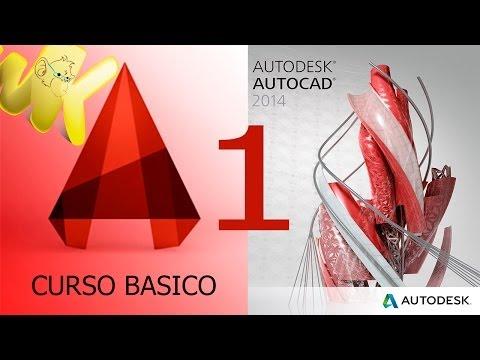 AutoCAD 2014 Tutorial descarga y conociendo la interfaz Curso Básico Español Capitulo 1
