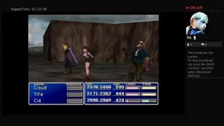 Final Fantasy 7 playthrough part 8 searching for Cloud