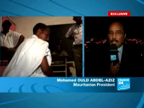General Mohamed Ould Abdel-Aziz spoke to FRANCE 24 after he