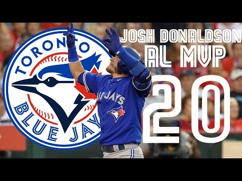 "Josh Donaldson   2015 ""AL MVP"" Highlights ᴴᴰ"