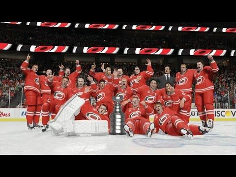 NHL 15 - Carolina Hurricanes Stanley Cup Celebration