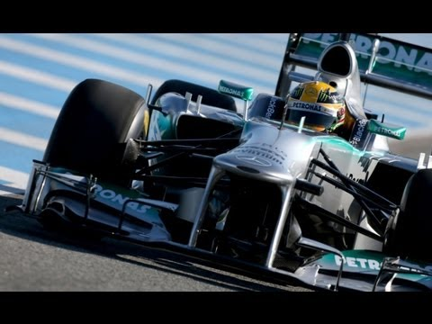 Mercedes W04 launch 2013 F1 Cars February 4 2013 HD