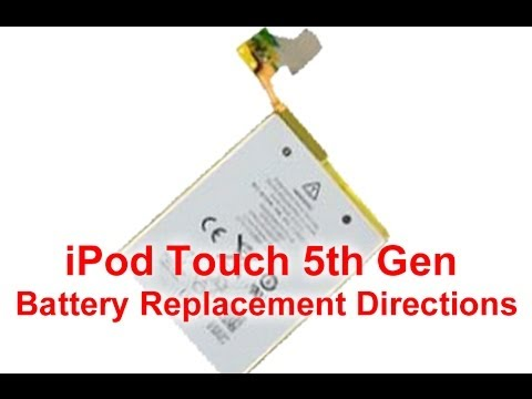 How to: iPod Touch 5th Generation Battery Replacement