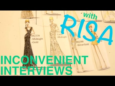Inconveniently Interviewing Designers at NY Fashion Week Part 2!