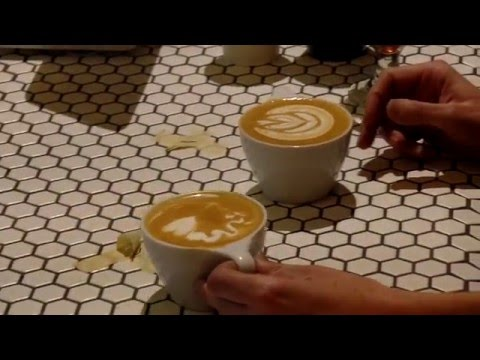 Onyx coffee lab - Latte art throwdown 2015