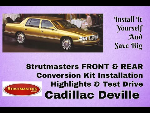 Shocks and Struts   Cadillac DeVille Replacement By Strutmasters
