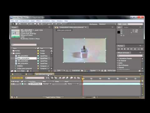 After Effects CS5 Parte 3 Timeline, Controles
