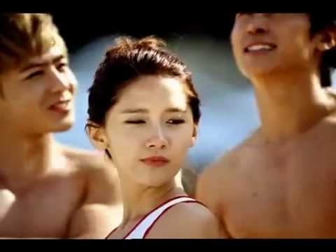 [Full MV/ HQ] 2PM & SNSD - CABI Song (Caribbean Bay CF) Music Videos