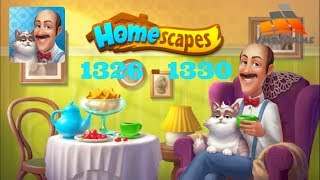 HOMESCAPES Gameplay - Level 1326-1330 (iOS, Android)