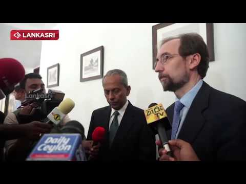 Un High Commissioner  Zeid Ra'ad Al Hussein Speech At Jaffna