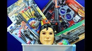 Box of Toys ! GUNS BOX Toys Military & Police equipment | Gun toy (10)