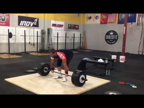 Dmitry Klokov - Power clean + push press + jerk - 190 kg Image 1