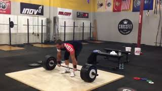 Dmitry Klokov - Power clean + push press + jerk - 190 kg