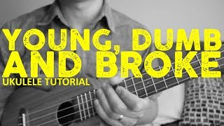 Download Lagu Young Dumb And Broke - Khalid - Ukulele Tutorial - Chords - How To Play Gratis STAFABAND