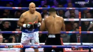 Anthony Joshua vs Hector Alfredo Avila