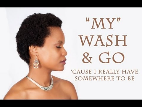 C Natural Hair Wash And Go