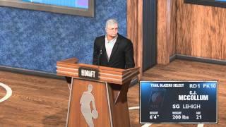 NBA 2K14 Next Gen MyCAREER Mode- Ep.4: The 2013 NBA Draft (PS4)