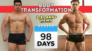 Natural Body Transformation 98 Days | Bodybuilding Motivation: The Journey