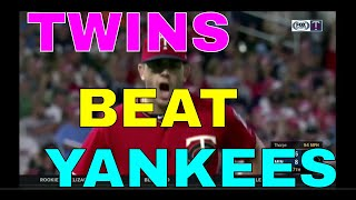 TWINS turn TRIPLE PLAY, hit FIVE HOME RUNS to beat the YANKEES 8-6 (7/22/19)