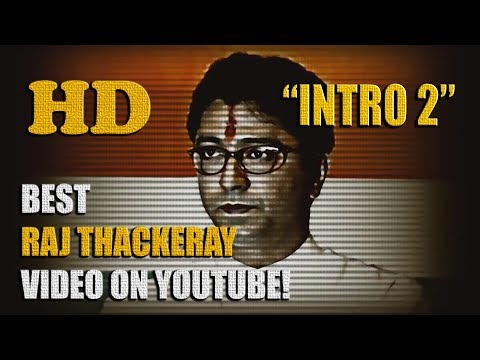 Raj Thackeray Intro: 2 [hd] video