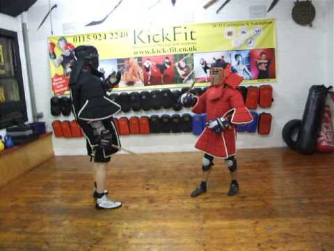Fullcontact Eskrima Kali Arnis Stickfighting .Kickfit Martial Arts Academy,Nottingham,UK Image 1