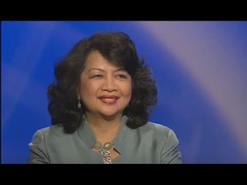 Irene Natividad on PBS Foreign Exchange with Daljit Dhaliwal