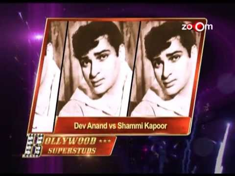 Century of Bollywood: Bollywood Superstuds:- Dev Anand vs Shammi Kapoor